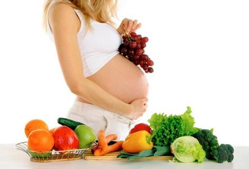 ¿Estás embarazada? Cuida tu alimentación.